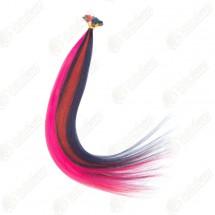 Волосы для наращивания, на капсулах, цветные пряди, длина 60 см