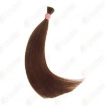 Волосы в срезе для наращивания, темные оттенки, цвет 3в, длина 45 см
